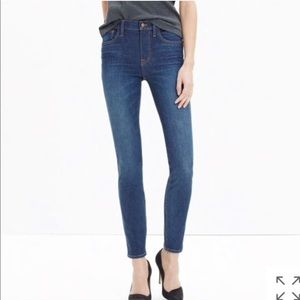 • Madewell • High Riser Skinny Jeans Surfside 29